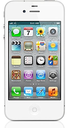 Apple iPhone 4S 8GB Unlocked GSM Cell Phone w/ Siri and iCloud - White