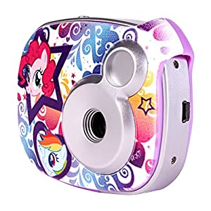Compact Kids Digital Camera My Little Pony Children's 2.1MP with Screen MLP 98357