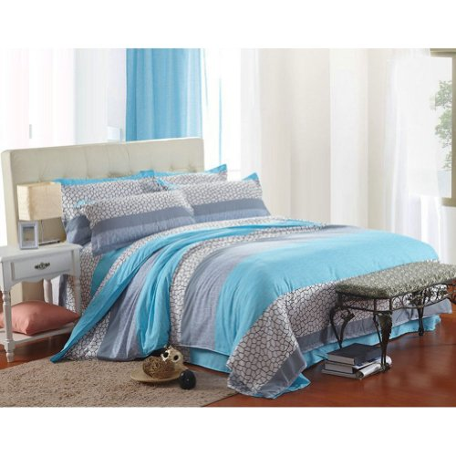 Gray Bedding Sets King 1460 front