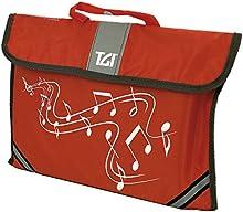 TGI - Bolsa para estudiantes de música, color rojo