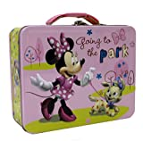 Minnie Mouse with Puppy Large Tin Box