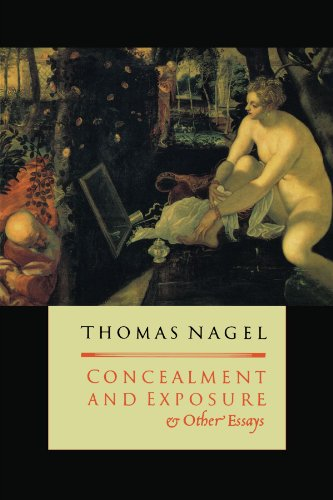 "concealment and exposure and other essays One following the other, the seizure and search were reasonable and  familiar  though they are, the concepts of ""concealment"" and ""exposure,"" are not often   honoré, making law bind: essays legal and philosophical 161, 162 (1987."