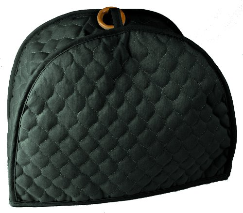 Quilted Hunter Green 4 Slice Toaster Appliance