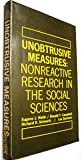 img - for Unobtrusive Measures: Nonreactive Research in the Social Sciences book / textbook / text book