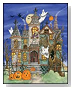 Haunted House Jigsaw