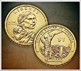 2010 D Mint Sacagawea Native American Golden  Dollar Uncirculated Coin