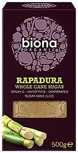 Biona Organic Rapadura Sugar 500 g (Pack of 3)