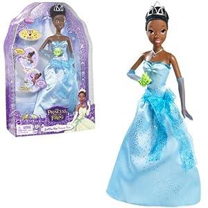 Disney Princess Tiana Doll - Just One Kiss