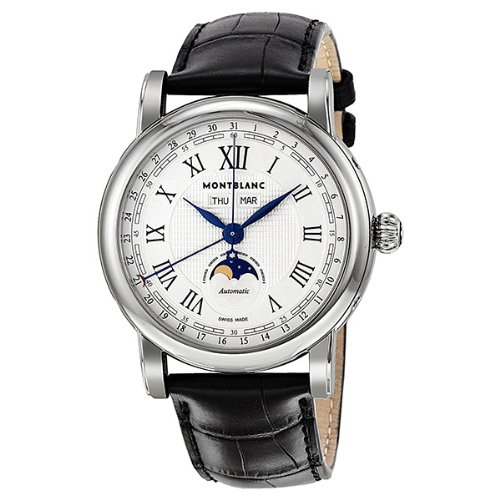 Montblanc Automatic Moonphase Stainless Steel Mens Watch 108736