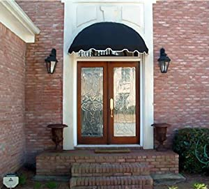 Dome Style Window Awning or Door Canopy 5' Wide in ...