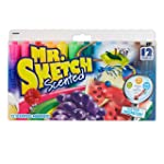 Mr. Sketch Assorted Scent Markers 12...