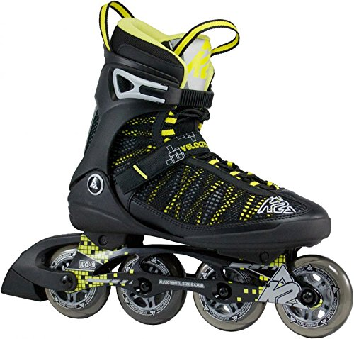 K2 VELOCITY SPORT M FITNESS TRAINING 84mm/80A ILQ9 INLINER SKATES US 8