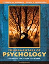 Introducing Psychology Brain Person Group by Stephen M. Kosslyn