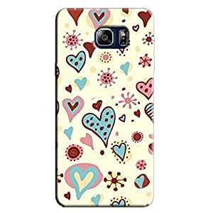 PINK BLUE HEARTS BACK COVER FOR SAMSUNG GALAXY NOTE 5