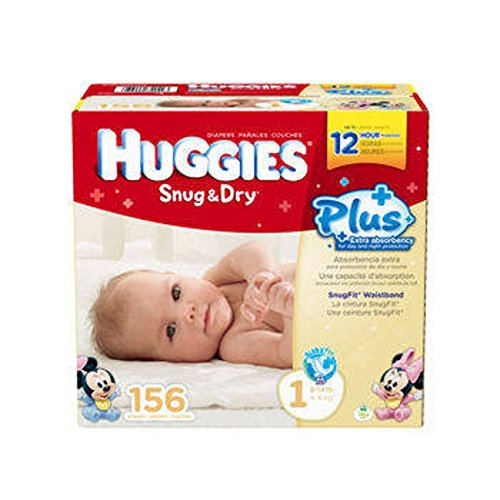 Huggies Snug & Dry front-1034868