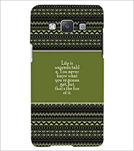 PrintDhaba Quote D-4177 Back Case Cover for SAMSUNG GALAXY A5 (Multi-Coloured)
