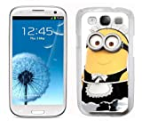 Despicable me Minions case fits Samsung galaxy S3 (i9300) cover hard protective (8)