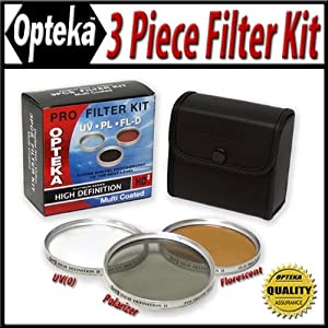 Opteka HD2 Filter Kit for Fuji Finepix S9500 S9000 S6000