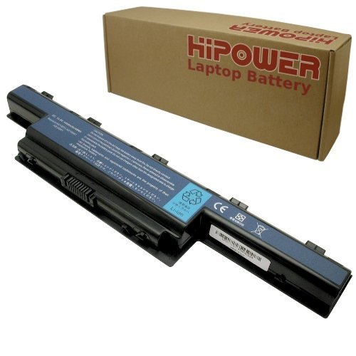 Hipower Laptop Battery For Gateway NV50A02U, NV50A16U, NV50A, PEW96, NV51B05U, NV51B08U, NV51B15U, NV51B, P5WS6, NV53A01H, NV53A05U, NV53A06H, NV53A11U, NV53A24U, NV53A32U, NV53A33U, NV53A34U, NV53A36U, NV53A38U, NV53A46U, NV53A47U, NV53A48U, NV53A52U, NV