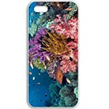 Apple iPhone 5 5S Cases Customized Gifts For Animals tropical fish Animals Birds White