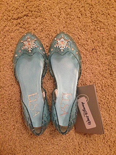 Disney Frozen Princess Elsa Light Up Shoes Size 7/8 front-1069937