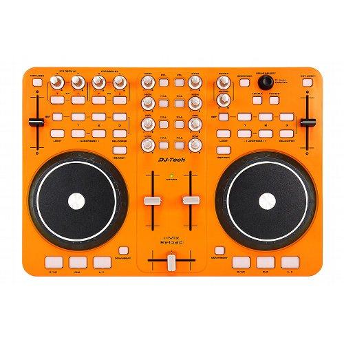 Dj-Tech I-Mix Reload Portable Usb Dj Mixer & Scratch Controller (Orange)