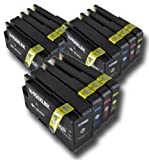 The Ink Squid 3 Sets Of Hp950Xl And Hp951Xl Bk/C/M/Y High Capacity Compatible Ink Cartridges For Hp Officejet Pro 8100 8600 8600 Plus And 8600 Premium