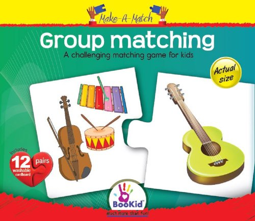 Make A Match Baby Puzzle Games - Group Matching. For 24+ Months Old