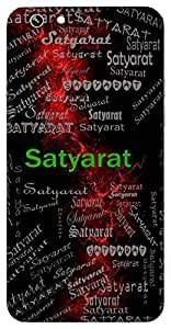 Satyarat (Devoted To Truth) Name & Sign Printed All over customize & Personalized!! Protective back cover for your Smart Phone : Apple iPhone 6