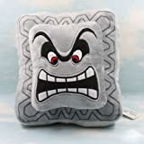 Super Mario Bros Plush Soft Toys Cushion Pillow Thwomp Dossun 9""