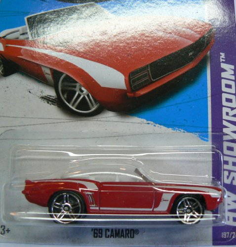 Hot Wheels HW Showroom 197/250 Red Convertible '69 Camaro