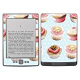 Diabloskinz Vinyl Adhesive Skin Decal Sticker for Amazon Kindle - Cupcakes