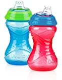 Nûby Clik-It Easy Grip Cup (2 Pack, Boy Colours)