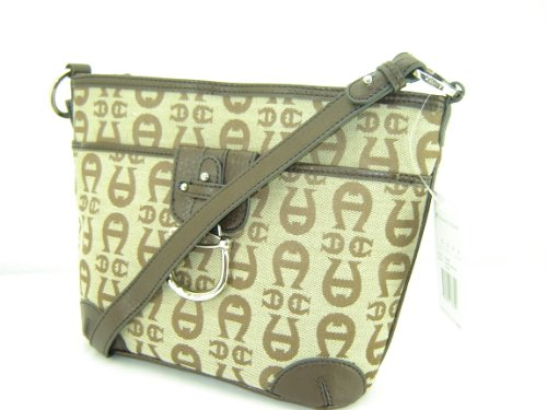 Etienne Aigner A Logo Crossbody Handbag Purse