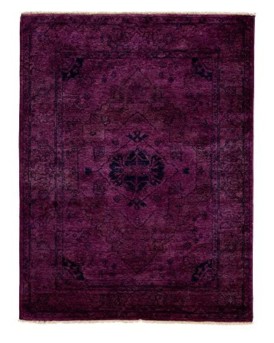Darya Rugs Ziegler One of a Kind Rug, Purple, 4' x 6'
