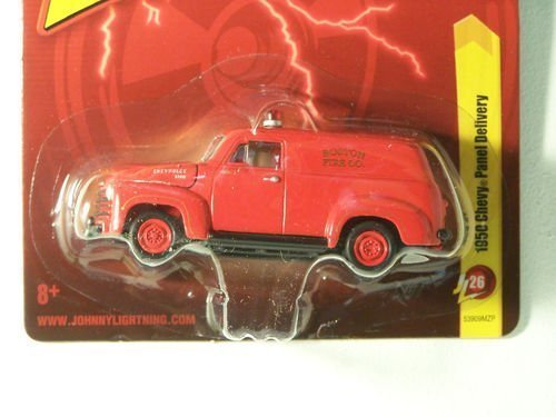 1950 Chevy Panel Delivery - Boston Fire Co. Red Diecast 1:64 Scale Car
