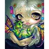 """Darling Dragonling IV by Jasmine Becket-Griffith 10""""x8"""" Art Print Poster by Bruce McGaw"""