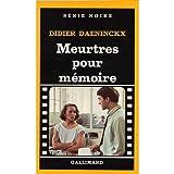 echange, troc Daeninckx Didie - Meurtres pour Mémoire