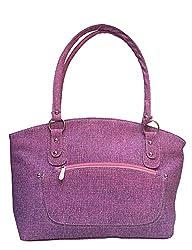 Vintage Stylish Ladies Handbag Pink (bag 37)
