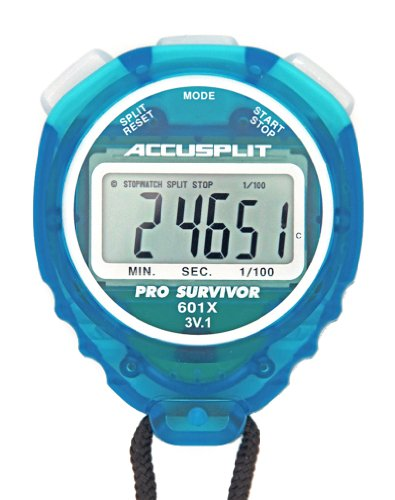 ACCUSPLIT Pro Survivor A601X Stopwatch Split Clock