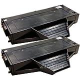 2 Pack 2inkjet© KX-FAT407 Compatible Toner Cartridge for Panasonic KX-MB1500, KX-MB1507, KX-MB1520, KX-MB1530 (2 Pack)