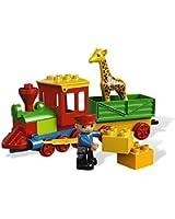 Lego Duplo Legoville - 6144 - Jouet de Premier Âge - Le Train du Zoo