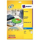 Avery C9660-25 - FullFace CD Label Glossy 117mm DIA C9660-25 (50Labels)