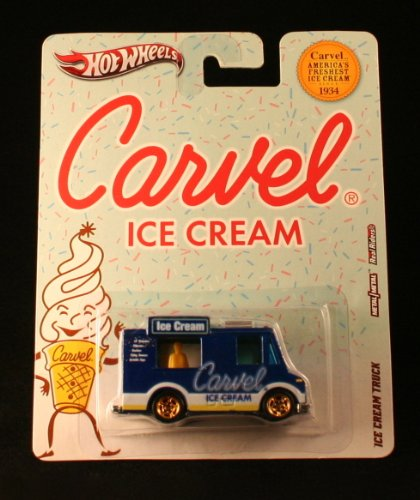 ICE CREAM TRUCK * CARVEL ICE CREAM * Hot Wheels 2012 Nostalgia Series 1:64 Scale Die-Cast Vehicle