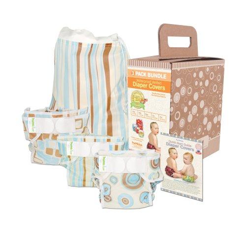 Bumkins Diaper Cover Bundle 3-Pack - Boy Elements LargeB001D27674