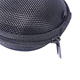 Dedeciated Colorful Replacement Protective Carrying Case/Bag/Pocket Save/holder for Bose IE2 MIE2 MIE2i SIE2 SIE2i IE1 MIE1 In-Ear fit Headphones Mobile Sport Headset (Black)