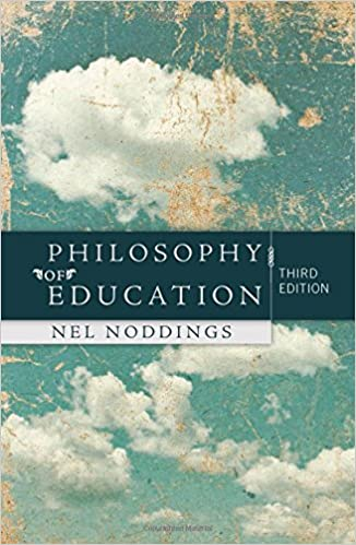 Book cover: philosophy of education