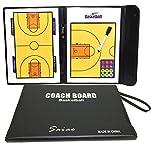 バスケットボール タクティック ボード 作戦 盤 折りたたみ フォーメーション 試合 研究 ミニ バスケ コート ゲーム 戦術 マグネット