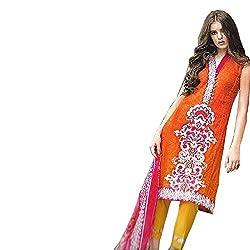 Palash Creation Pakistani Print Unstitched Dress Material