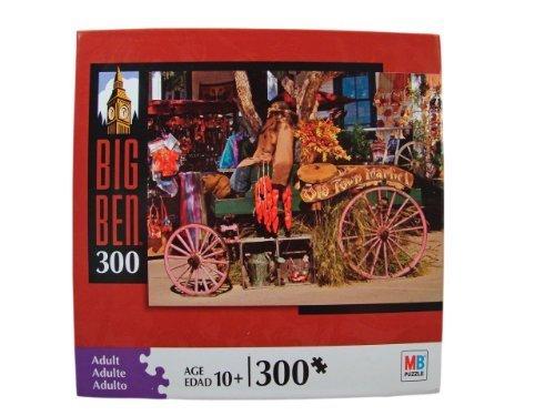 Big Ben 300 Piece Jigsaw Puzzle: Old Town Market, San Diego, CA